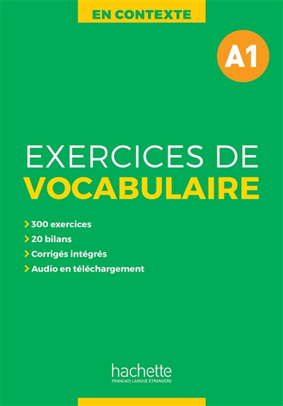 Exercices de vocabulaire en contexte A1