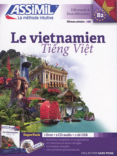 Le vietnamien[méthode+CD audio]