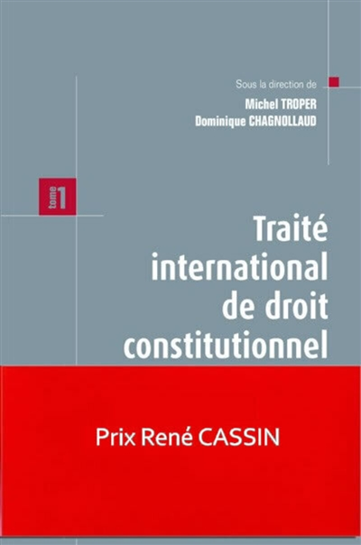 Traité international de droit constitutionnel. Tome 1 , Théorie de la Constitution