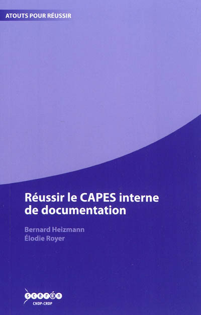Réussir le CAPES interne de documentation